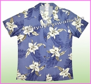 Women Hawaiian Shirt - 809Blue