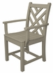 POLYWOOD® Chippendale Dining Arm Chair