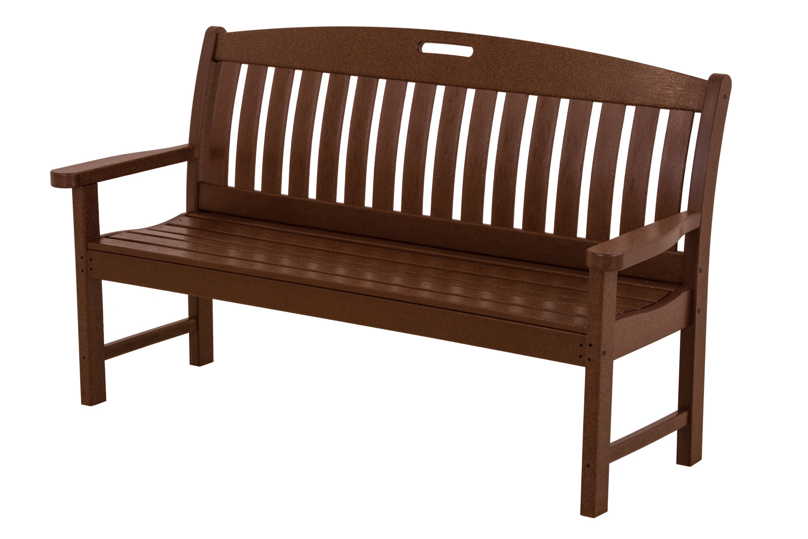 Polywood nautical 60 bench Polywood bench