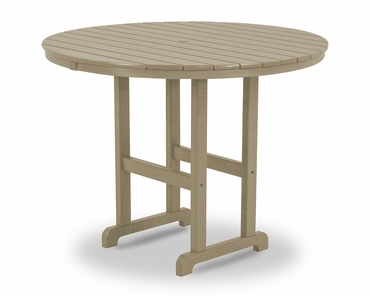 "POLYWOOD® Round 48"" Counter Table"