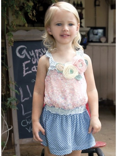 Baby Sara Sassy Blouson Dress *FINAL SALE* SOLD OUT