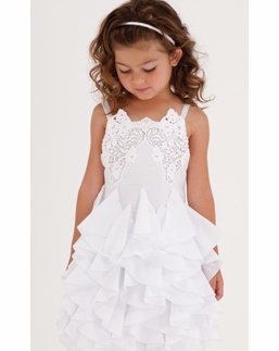 "Biscotti Beautiful White ""Summer Whites"" Cotton Dress *FLYING FAST!"