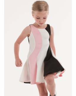 Biscotti Spring Swirl Perfect Fit and Flare Tank Dress