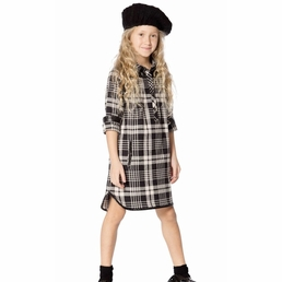 "Deux par Deux Stripe ""Paris Je taime"" SOFT PLAID Dress *FINAL SALE* SOLD OUT"