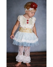 """Giggle Moon """"Book of Life"""" Gorgeous Tutu Dress & Lace Pant Two Piece Set *FINAL FEW!"""