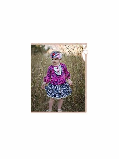 "Haute Baby ""Sugar Plum"" Gorgeous Top & Skirt Two Piece Set *FINAL SALE* SOLD OUT"