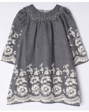 Isobella & Chloe Gracie Embroidered Dress *SIZE 4