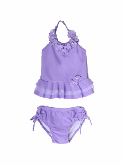 "Isobella & Chloe ""Queenie"" Lilac Two Piece Tankini Swimsuit *FLYING FAST!"