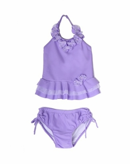 "Isobella & Chloe ""Queenie"" Lilac Two Piece Tankini Swimsuit  PREORDER"
