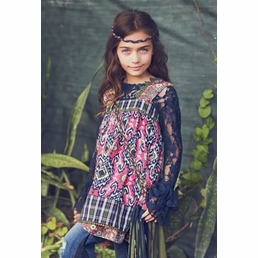 "Jak & Peppar Electric Pink ""Dixie Mabel"" Top *FINAL SALE* SOLD OUT"