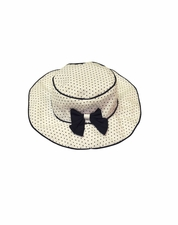 "Kate Mack ""Making Waves"" Navy & White Hat *FINAL SALE*"