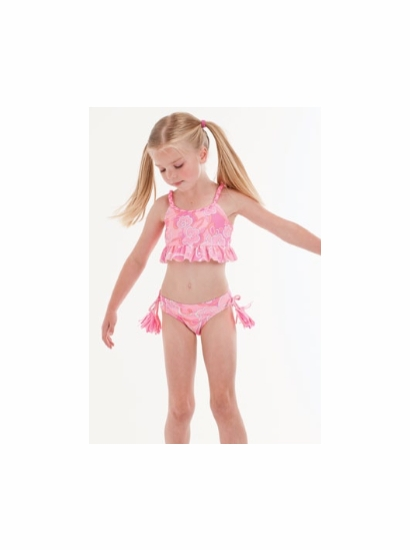 Kate Mack Pink Midkini Tropical Passion Swimsuit