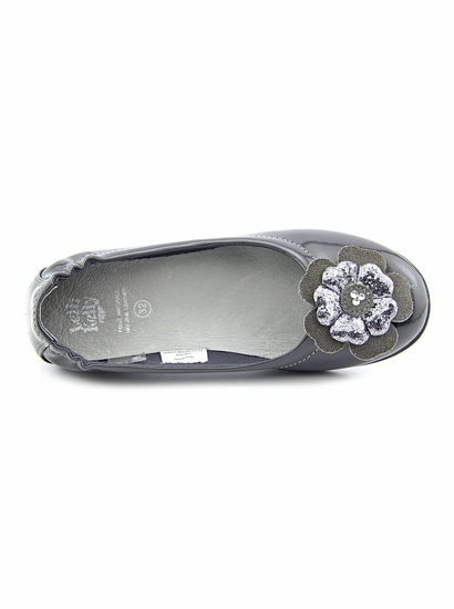 Lelli Kelly Grey Patent Leather Flats *FINAL SALE* SOLD OUT