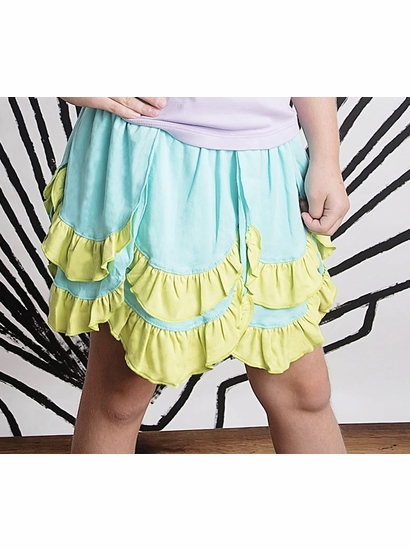 Lemon Loves Lime Aruba Blue Mermaid Skirt *FINAL SALE*
