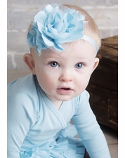 Lemon Loves Lime Cinderella Blue Stretch Headband SOLD OUT