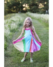 Lemon Loves Lime Over the Rainbow Dress SIZE 4