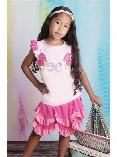 Lemon Loves Lime Rose Shadow Ladybug Fairy Tee *FINAL SALE* SOLD OUT
