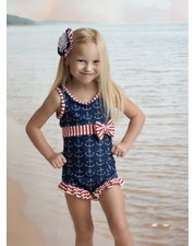 "Muddy Feet ""Anchors Away"" Margaret Swimsuit *FINAL SALE* SOLD OUT!"
