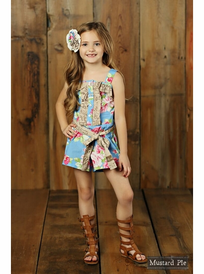 Mustard Pie Apple Blossom Lucinda Romper OUT OF STOCK