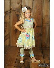 Mustard Pie Apple Blossom Griffin Legging OUT OF STOCK
