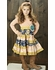 "Mustard Pie Jeweled Forest Fall Floral ""Mckenna"" Dress SOLD OUT"