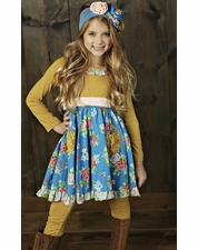 Mustard Pie Picnic Lunch Cozette Dress with Pockets *BEST SELLER*