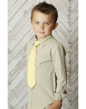 "Mustard Pie Vanilla ""Taylor"" Boy's Button Down *FINAL SALE* SOLD OUT"