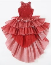 Ooh La La Couture Holiday Red Wow Chloe Dress