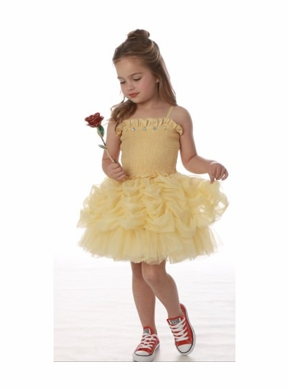 "Ooh La La Couture *Must Have* Gorgeous Pale Yellow ""Belle"" Dress *FLYING FAST!!"