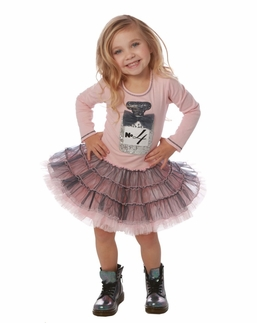 Ooh La La Couture Pink & Platinum Birthday Dress *PREORDER*