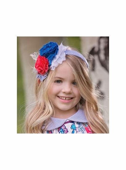 Persnickety Spring Wild Flower Talma SOFT Headband FINAL SALE! SOLD OUT