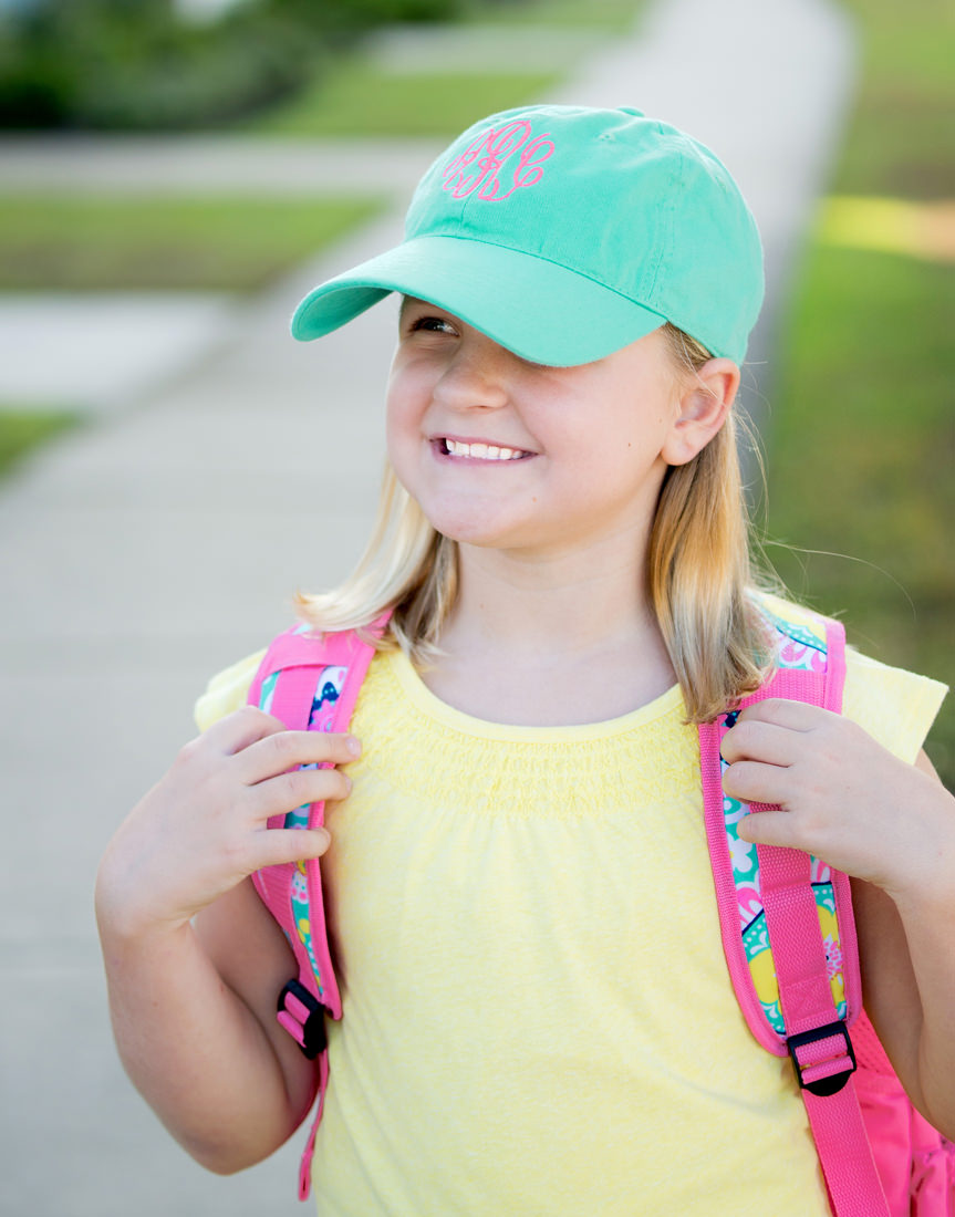 Personalized Mint Kids Cap - Special Order 334a9226454d