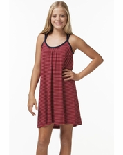 PPLA Hadlee Red Soft KNIT Tween Sun Dress *FINAL SALE*
