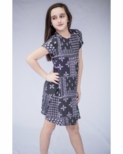 "PPLA Navy ""Duffy"" Light & Flowy Dress  *FINAL SALE*"