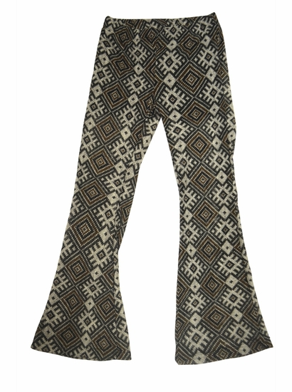 Tru Luv Black Modern Gypsy Flare Pants *FINAL SALE BLOW OUT* SIZE 10