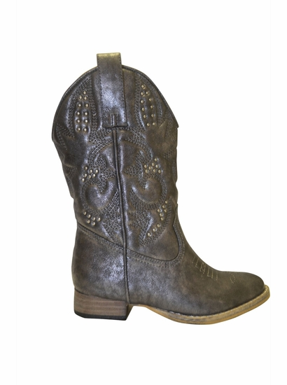 """Volatile Pewter """"Clayton"""" Western Boot *FINAL SALE* SIZE 2!"""