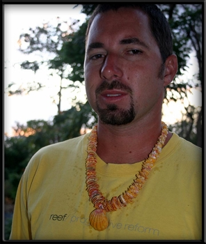 Chris' Sunrise Shell Wedding Lei