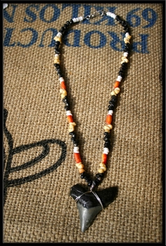 Great White Shark Tooth Necklace