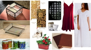 Limited time Black Friday Holiday Sale - 25%  - 50% off. Sleepwear, Journals, Blank Cards, Bridal, etc.