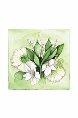K's Bouquet Boxed Large Cards