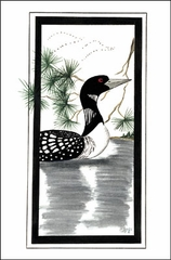 Loon Boxed Cards
