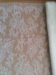 Custom-made French Chantilly Lace Luxury Silk Nightgown - Handmade Made in USA by Pampour Couture
