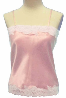 Aria Luxury Silk Camisole or Nightgown Made in USA by Pampour Couture