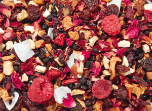 Raspberry Cherry Fruit Tea Compote Loose Tea Blend