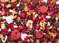 Raspberry Cherry Fruit Tea Compote - Loose Fruit Tea Blend