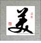 Chinese Calligraphy Symbol - Beauty #50