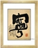 Framed Chinese Calligraphy - Tranquility #228
