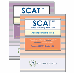 """Advanced SCAT™ Workbook Bundle (Grades 6-8) <span style=""""color: red""""> OUT OF STOCK</span>"""