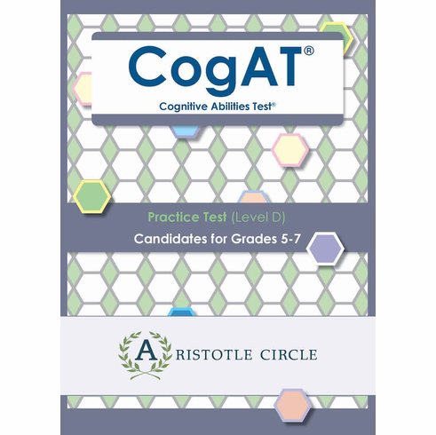 CogATⓇ Practice Test (Level D)<br> Grades 5-7