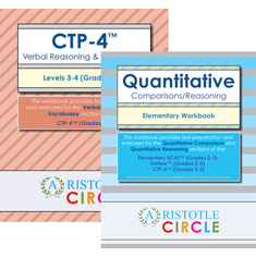 """CTP-4™ Verbal and Quantitative <br>Workbook Bundle <span style=""""color: red""""> OUT OF STOCK</span>"""